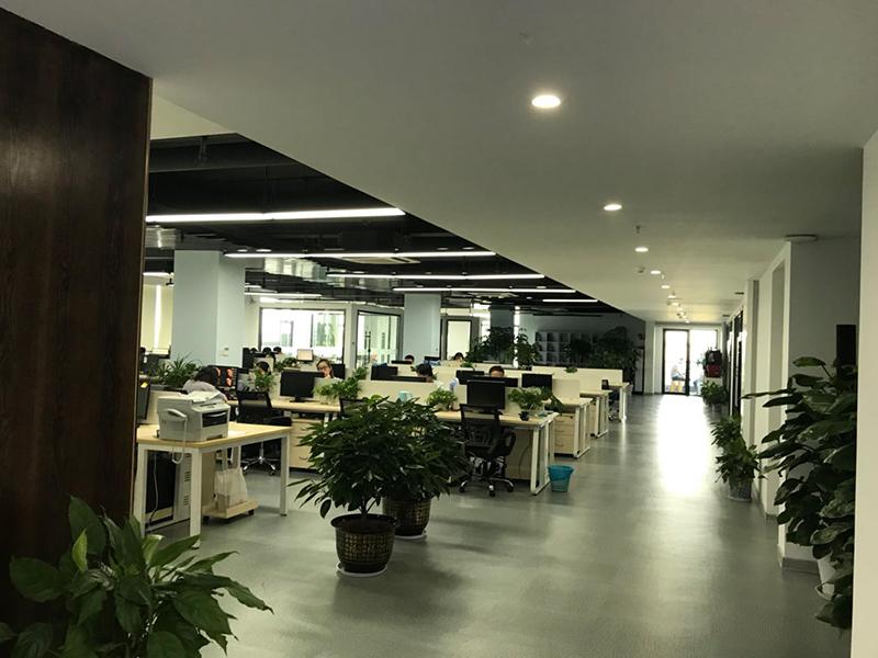 杭州东方网升科技股份有限公司办公室装修项目已竣工!